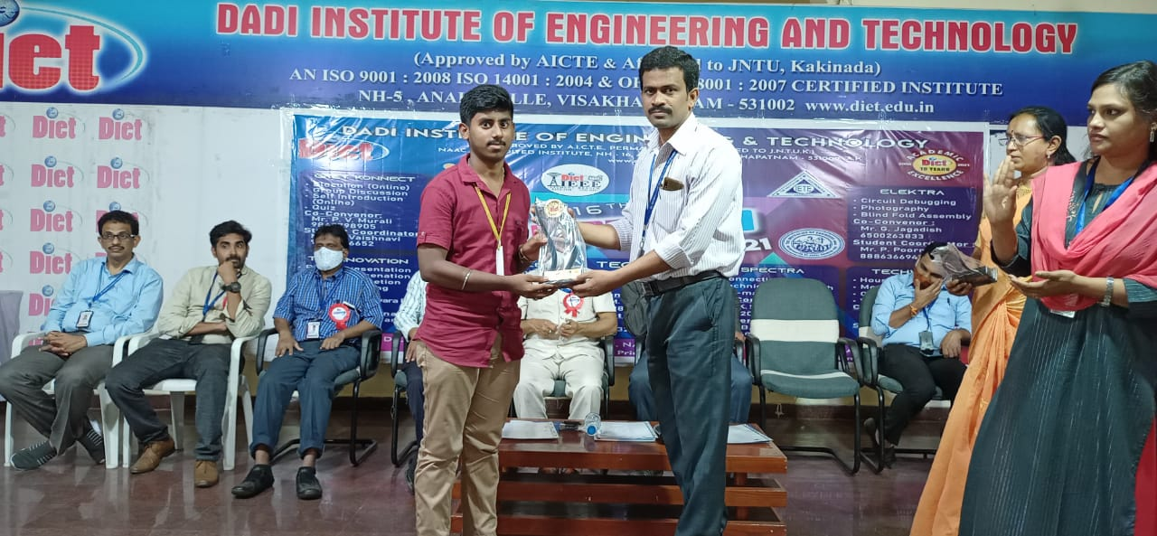 Welcome to Dadi Institute of Engineering & Technology